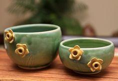 Pretty new bowls made by my sister @Tasha McKelvey