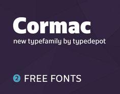 "Dai un'occhiata a questo progetto @Behance: ""Cormac Typefamily"" https://www.behance.net/gallery/47603793/Cormac-Typefamily"