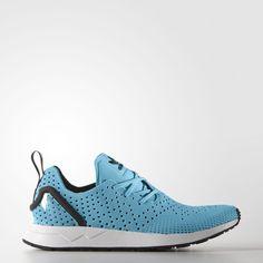 ba82fbd9647d2 MEN S ZX FLUX ADV ASYMMETRICAL PRIMEKNIT BLUE GLOW  adidas  RunningShoes