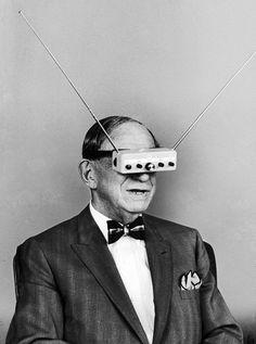 TV glasses - Hugo Gernsback, 1963