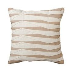 Radiant Exports Neutral Decorative Pleated Pillow