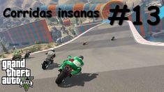 GTA V - Corridas insanas - Manobras e Crânios Rachados #13