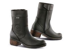 $150 EBAY Falco Ayda 652 Italian Made Women's Waterproof Motorcycle Boots  #Falco