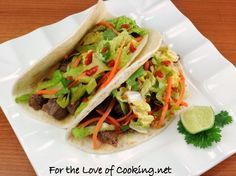 Food Truck Recipes: Korean Street Tacos