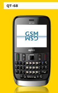 Spice QT 68 Qwerty Mobile