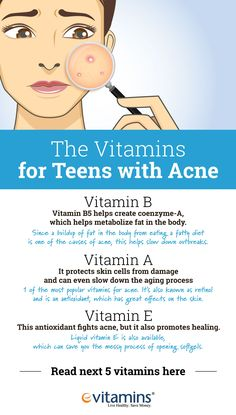 e7f120d0e78 Teens and Vitamins: Fight the Acne Battle