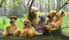 Teddybär, Teddybear ,Teddy Bear Felix , Puk , Homie , Ferdinand , Waste , Felix