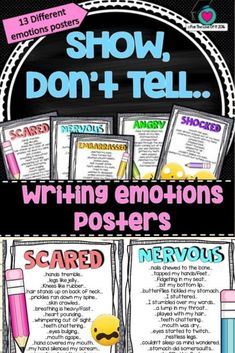 How To Circumvent IP Possession Concerns Every Time A Strategic Alliance, Three Way Partnership Or Collaboration Fails These Are A Great Set Of Posters To Display For Students To Experiment With Showing Feelings And Emotions In Their Writing When Building Secondary Teacher, Primary Teaching, Teaching Tips, Teaching Writing, Education And Literacy, Primary Education, Persuasive Writing, Paragraph Writing, Opinion Writing