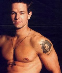 MW still gorgeous (Marky Mark)