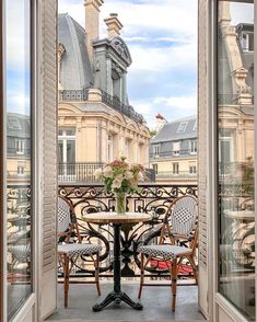 Photo by Bertille Canat in Paris, France. Image may contain: table, plant and outdoor via French Apartment, Parisian Apartment, Dream Apartment, Paris Apartments, Parisian Bedroom, City Aesthetic, Travel Aesthetic, Parisian Architecture, Decoration Inspiration
