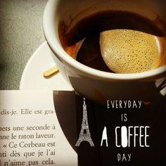 On ne se refait pas … un lundi sans café : impossible !!! Bon début de semaine à tout le monde ! 😄😄😄 #happy #happymilleuille #happiness #igers #igdaily #freetime #igersfrance #café #coffee #coffeelover #coffeeaddict #coffebreak #reading #bookstagram...