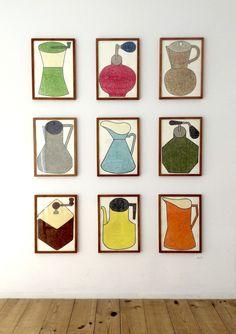 Japanese Illustration, Gallery Wall, Daigo, Frame, Yamamoto, Illustrations, Home Decor, Picture Frame, Japan Illustration