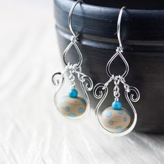 beautiful wire earrings