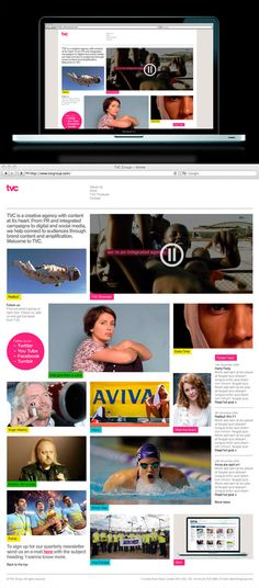 tvc website design