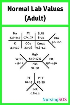 Normal Lab Values Yo Normal Lab Values You Need to Know in Nursing School. Click through to get this FREE printable. Take this Normal Lab Values cheat sheet with you to clinical and be a nursing school rockstar! Nursing Lab Values, Nursing Labs, Cardiac Nursing, Pharmacology Nursing, Funny Nursing, Nclex Lab Values, Pathophysiology Nursing, Neonatal Nursing, Med Surg Nursing