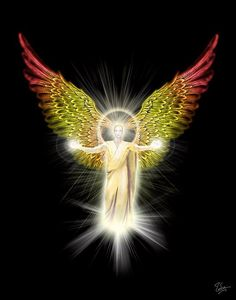 The Archangels oversee and guide Guardian Angels who are with us on earth. The most widely known Archangel Gabriel, Michael, Raphael, and Uriel. Angels Among Us, Angels And Demons, Angel Protector, Angel Guide, I Believe In Angels, Ascended Masters, Archangel Michael, Guardian Angels, Angel Art