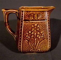 Antique Shorter Son Jonquil Pitcher Creamer Pottery Staffordshire England Vtg | eBay Earthenware, Stoneware, English Pottery, Stoke On Trent, Ceramic Materials, Pots, Retro Vintage, Art Deco, Porcelain