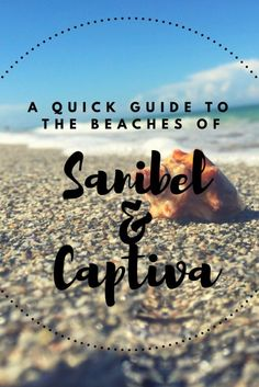 Can't wait for our trip! Sanibel and Captiva Florida. A quick guide of the beaches. Near Fort Myers on the Gulf Coast of Florida. Florida Keys, Visit Florida, Florida Vacation, Florida Travel, Florida Beaches, Vacation Places, Beach Travel, Beach Vacations, Dream Vacations
