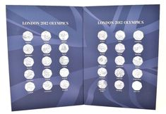 2018 Edition London Olympic 2012 50p British Coins Sports Coin Hunt Collectors Album