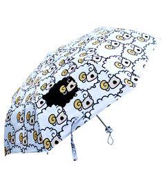 Fat Sheep Umbrella via Sugar Bunny Shop $26 (I love Fat Sheep so much!)