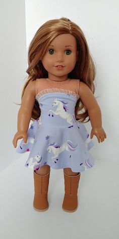 girls Excited to share the latest addition to my shop: Doll inch doll clothes. Fits like American girl doll clothes. Ropa American Girl, American Girl Crafts, American Girl Clothes, American Dolls, Ag Doll Clothes, Doll Clothes Patterns, Clothing Patterns, Our Generation Dolls, Sewing Patterns Girls