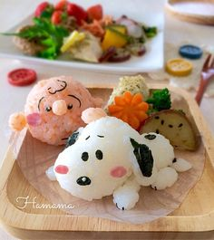 {5F0C03FB-C4D8-4F2E-B699-E6F8DF1C3E6F} Cute Food, Yummy Food, Japanese Food Art, Cute Bento Boxes, Kawaii Cooking, Kawaii Bento, Bento Recipes, Food Garnishes, Food Facts