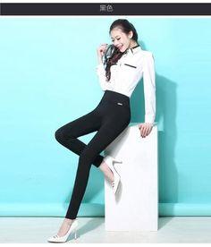c1299eb8550 S-6XL winter warm high Elastic Waist Casual stretch Skinny Pencil Pants  Women trousers Plus size Clothing Female Leggings