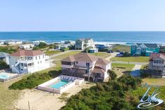 """Great ocean views and a beautiful pool with ample deck space for sunning or relaxing are all yours at """"Mutual Fun"""". 7 bedrooms, 8.2 bathrooms and only 240 ft from the beach. Rates available between $1,645 to $6,875."""