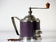 Mechanical Russian coffee grinder from USSR