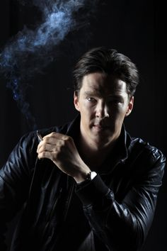 Benedict Cumberbatch by Rick Loomis for the Los Angeles Times