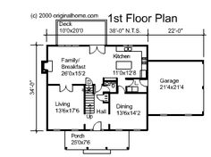 Plan 44045td center hall colonial house plan center for Columbia flooring melbourne ar