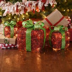 """Whether they're crafted in rustic twine, colorful glitter, or metallic hues, pre-lit gift boxes add instant Christmas cheer in and around your home. Much to our delight, they're already wrapped — bringing the excitement of the holidays in whimsical, no-fuss packaging. Here are a few of our favorite ways to... <a class=""""arrow"""" href=""""http://www.kirklands.com/blog/where-to-decorate-with-pre-lit-gift-boxes-for-christmas/"""">Read More</a>"""
