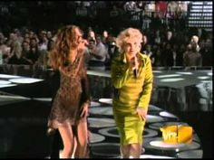 """Blondie And Joss Stone - """"One Way Or Another""""...Old Music With A New Voice Added....Love Debbie Harry, the 1st Rapper & Truly Great Female Singer...With A Young Joss Stone On A Great Tune...Love This Clip!!"""