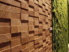 Wooden 3D Wall Panel SAFARI Menotti Lab Collection by MENOTTI SPECCHIA | design Licia Bottegal