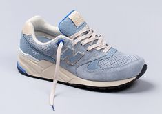 The New Balance 999 Impresses In Baby Blue and Cream - SneakerNews.com