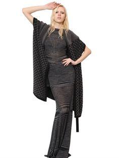 MISSONI  GEOMETRIC TEXTURED WOOL KNIT SHAW - http://lustfab.com/shop-lust/missoni-geometric-textured-wool-knit-shaw/
