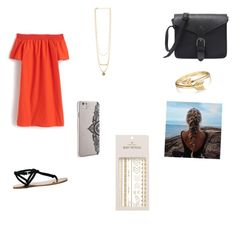 """""""red"""" by giorgia-brea on Polyvore featuring J.Crew, Sole Society, Bling Jewelry, Pieces and Nanette Lepore"""