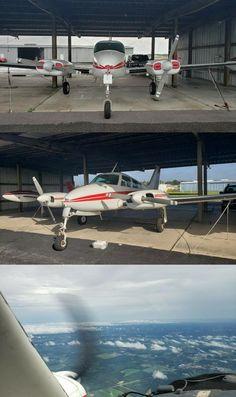 1960 Cessna 310F aircraft [original avionics] Aircraft, Florida, The Originals, Aviation, The Florida, Planes, Airplane, Airplanes, Plane