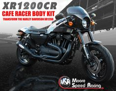 XR1200 CAFE RACER BODY KIT for HARLEY DAVIDSON