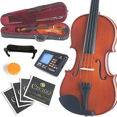 78932 musical-instruments NEW FULL SIZE 4/4 VIOLIN+Everything You Need & LESSONS  BUY IT NOW ONLY  $61.99 NEW FULL SIZE 4/4 VIOLIN+Everything You Need & LESSONS...