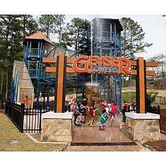 Geyser Towers Stone Mountain, GA #Kids #Events #PlacesIWILLTakeMyNephewsAndNiecesSomeday