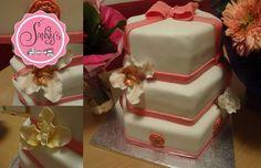 30ster Geburtstag-meine Torte.birthday cake.gumpaste flowers.how to make by Sanny´s e-Sport Torten