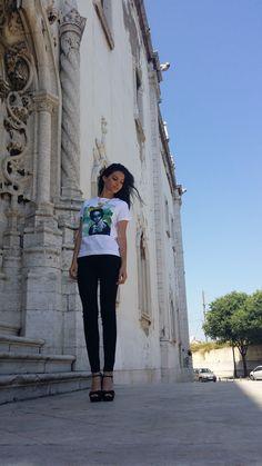 Woman t-shirt 100% cotton by Duhesme