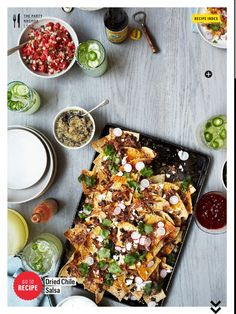 Nacho Party from Bon Appetite