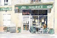 The Art World directory of artists from France features French artist Ian Osborne - Watercolours by Ian Osborne. French Artists, Art World, France, Outdoor Decor, French