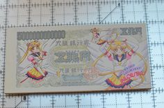 Eternal Sailor Moon SailorStars notepad drawing paper stationary retro Japanese #SeikaNote
