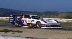 Klaus Ludwig's Zakspeed Mustang GTP, Laguna Seca, 1984...