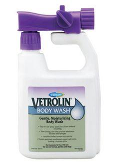 Paradise Farm and Tack� - Vetrolin Body Wash ? 32oz, $14.99 (http://www.paradisefarmandtack.com/vetrolin-body-wash-32oz/)