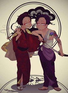 Ichimatsu & Osomatsu