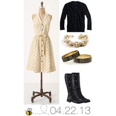 OOTD 4/22/13 by jlcl119 on Polyvore